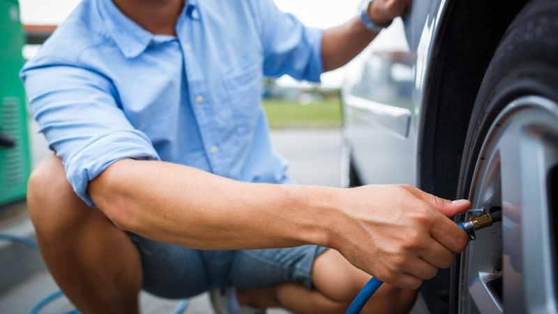 Mejor inflador de neumáticos eléctrico de 12V para coche -2
